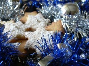Коледни бисквитки с канела и джинджифил